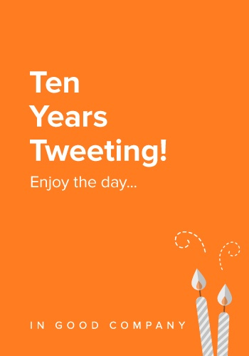 Happy Birthday Twitter!